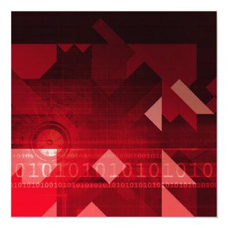 Futuristic Abstract as a Robotic Concept Art Card