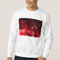 Futuristic Abstract as a Robotic Concept Art Sweatshirt