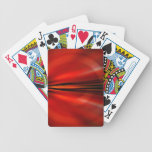 Futuristic abstract design deck of cards
