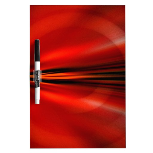 Futuristic abstract design Dry-Erase whiteboards