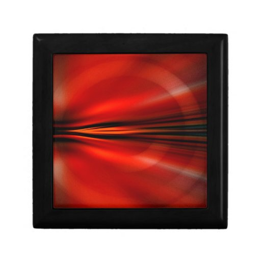 Futuristic abstract design keepsake boxes