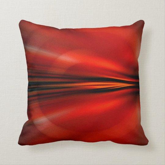 Futuristic abstract design throw pillow