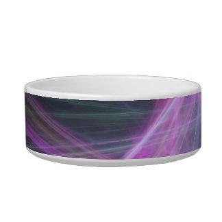 Futuristic Abstract Fractal Design Bowl