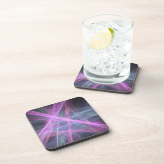 Futuristic Abstract Fractal Design Drink Coaster
