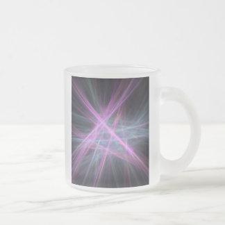 Futuristic Abstract Fractal Design Coffee Mug
