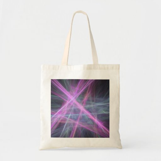 Futuristic Abstract Fractal Design Tote Bag