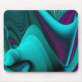 futuristic, Abstract Mouse Pad