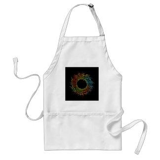 Futuristic artwork adult apron