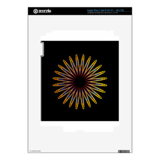 Futuristic artwork decals for iPad 3