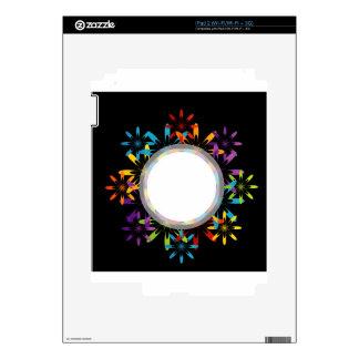 Futuristic artwork iPad 2 skin