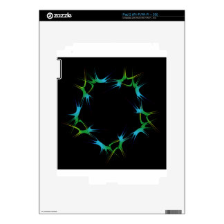 Futuristic artwork iPad 2 skins