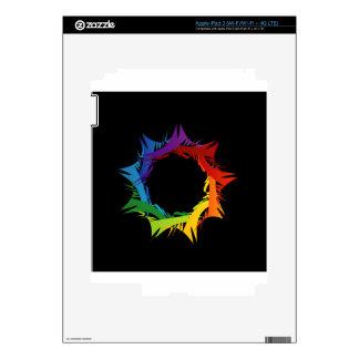 Futuristic artwork iPad 3 decals