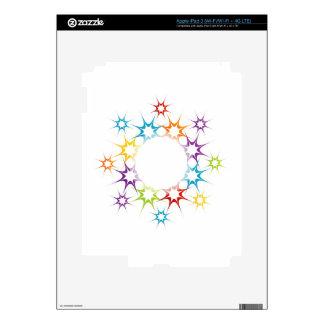 Futuristic artwork iPad 3 skins