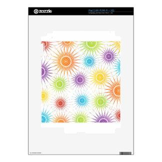 Futuristic artwork skin for iPad 2