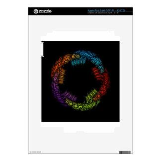 Futuristic artwork skin for iPad 3