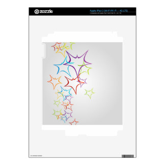 Futuristic artwork skins for iPad 3