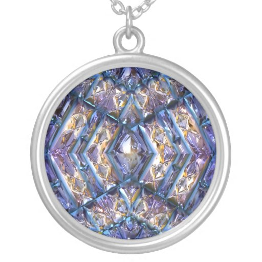 Futuristic Chrystal X17-12 Necklace
