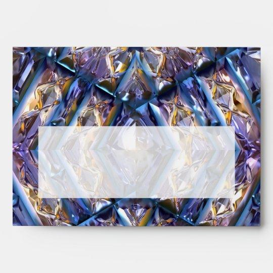 Futuristic Chrystal X7-12 Envelope