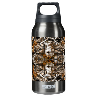 futuristic ciber angel insulated water bottle