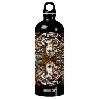 futuristic ciber angel water bottle