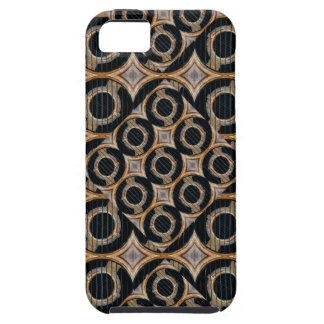 Futuristic Circles Abstract Pattern iPhone SE/5/5s Case