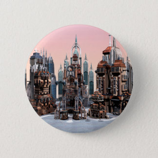 Futuristic City Button