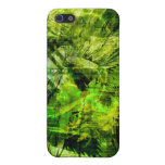 Futuristic City Monkey King green yellow iPhone 5 Cover