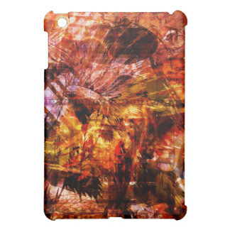 Futuristic City Monkey King orange original iPad Mini Cover