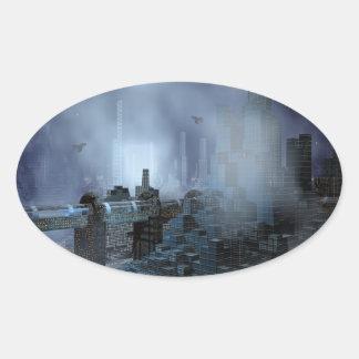 Futuristic City of Tomorrow sticker