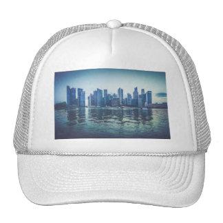 FUTURISTIC CITYSCAPE CITY HIGH-RISES WALLPAPERS BA TRUCKER HAT