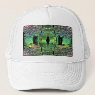 Futuristic Design Designer Ballcap Hat 1
