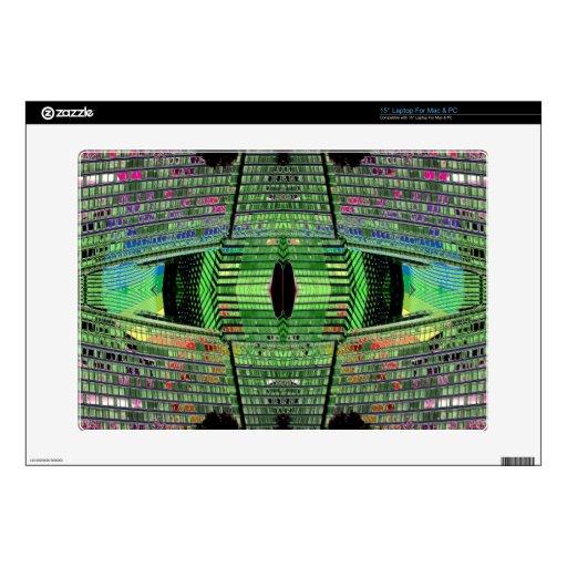 Futuristic Design Designer Laptop Skin 1