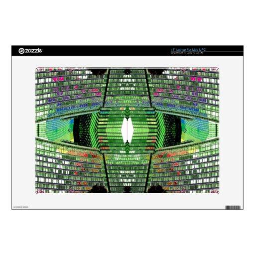 Futuristic Design Designer Laptop Skin 2