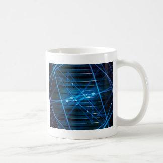 Futuristic Dynamic Abstract Design Coffee Mug