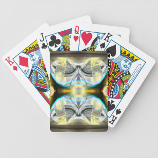 Futuristic Elevator Level Bicycle Playing Cards
