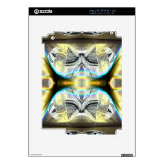 Futuristic Elevator Level Decals For iPad 2