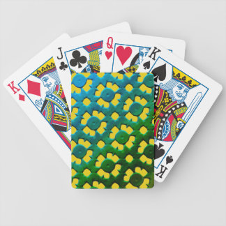 FUTURISTIC FLOWERS BICYCLE POKER DECK