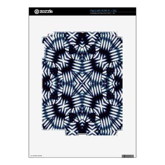 Futuristic Geometric Print Decal For iPad 2