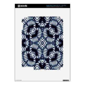 Futuristic Geometric Print iPad 3 Skins