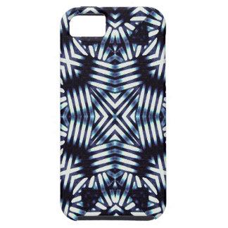 Futuristic Geometric Print iPhone SE/5/5s Case