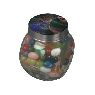 Futuristic Glass Candy Jars