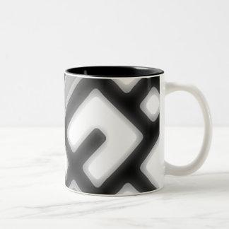 Futuristic Glow Two-Tone Coffee Mug