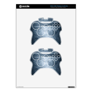 Futuristic Hardcore Armor Plating Grunge Xbox 360 Controller Decal
