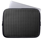Futuristic Honeycomb Metal Mesh Texture Laptop Sleeves