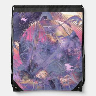 Futuristic Lavender Bag