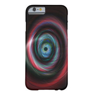 Futuristic light trails eye barely there iPhone 6 case