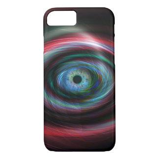 Futuristic light trails eye iPhone 8/7 case