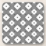 Futuristic Line Pattern Coasters