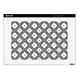 Futuristic Line Pattern Skins For Laptops