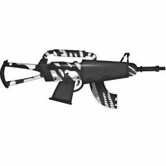 Futuristic Machine Gun Acrylic Cut Outs